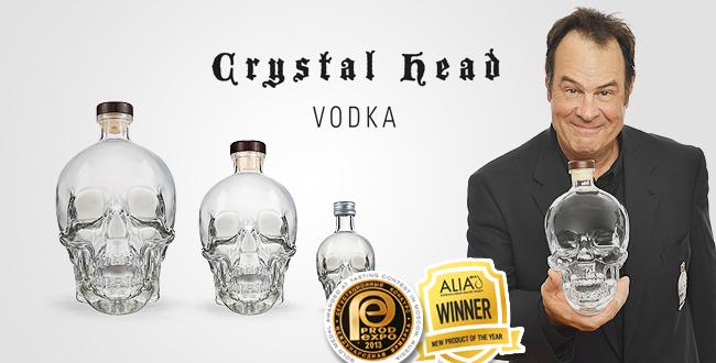 Interview: Crystal Head Vodka by Dan Akroyd