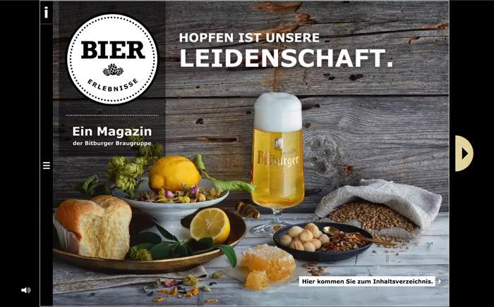Bitburger Braugruppe bringt Bier-Erlebnisse: SmartMag für mehr Wissen rund um das Thema Bier
