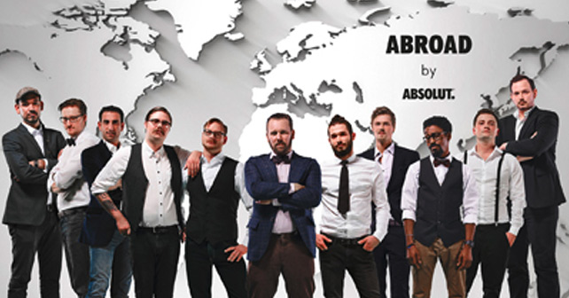 Abroad by Absolut - Das International Guest Bartending startet in die zweite Runde