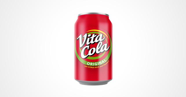 VITA COLA Original gibt es nun auch wieder in der Dose