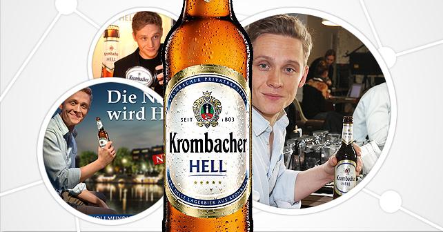 Matthias Schweighöfer: Markenbotschafter für das neue Krombacher Hell
