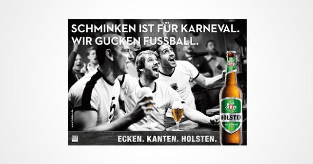 Volltreffer für alle Fußballfans: Holsten startet charakterstarke Fußball-Promotion