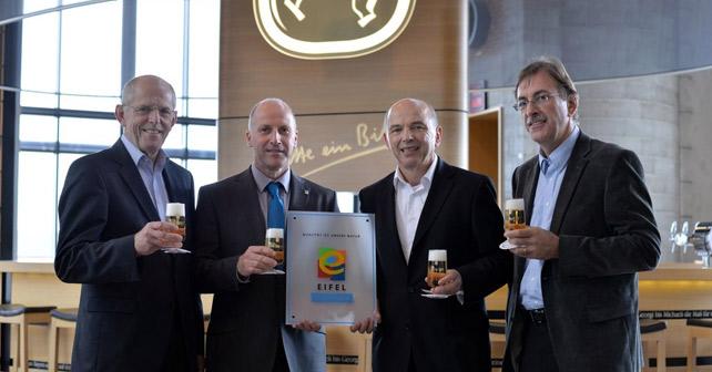 Bitburger als EIFEL-Arbeitgeber zertifiziert
