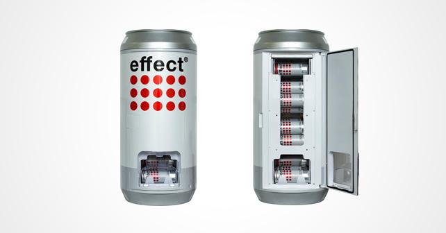 Kühlschrank Dosen : Effect can dispenser u praktischer dosen kühlschrank afg