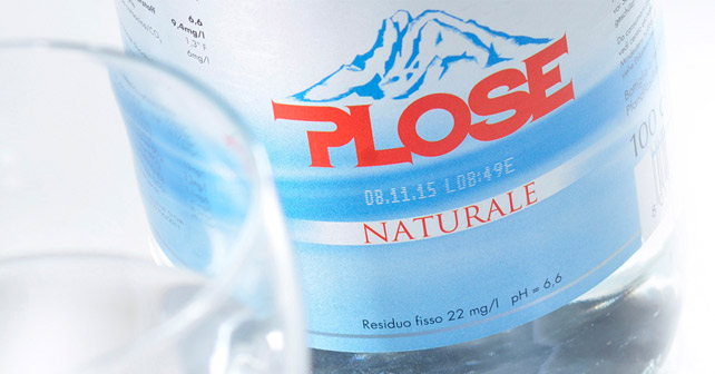 Plose Mineralwasser Naturale