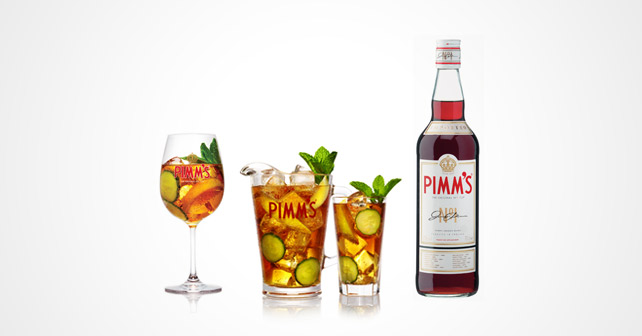 Diageo PIMM'S Drinks Sommer 2015