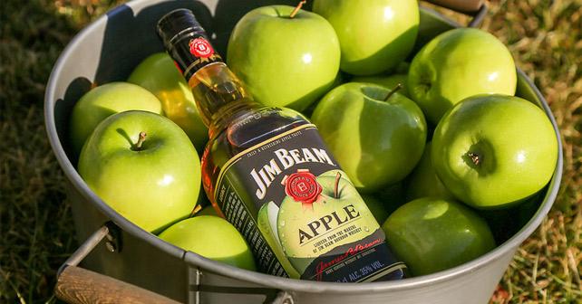 Jim Beam Apple Der Neue Sommerhit Spirituose Whiskey