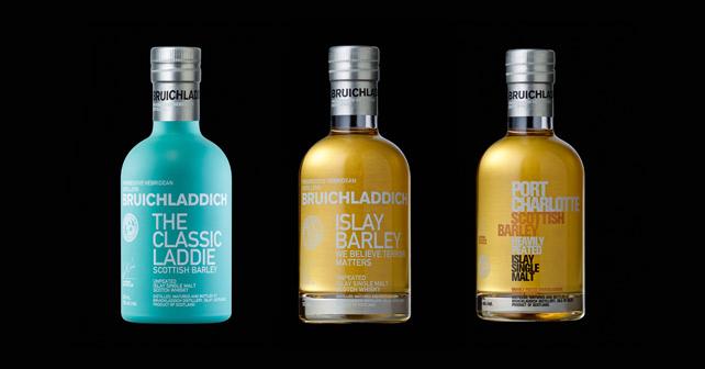 Bruichladdich - Drei Whisky-Miniaturen zum Probieren - Spirituose - Whisky | about