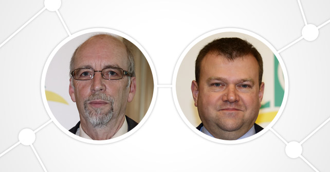 DLG e.V. Gerd Bender und Andreas Ludwig