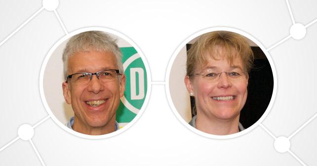 DLG e.V. Dr. Claus Patz und Ulrike Edeler