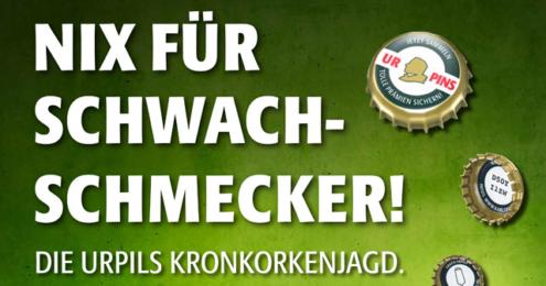 Karlsberg UrPils Kronkorkenaktion-2015