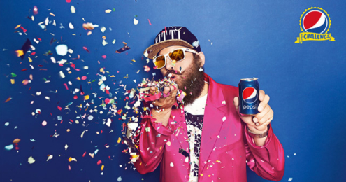 Pepsi Challenge MC Fitti