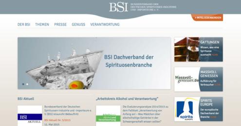BSI neue Website