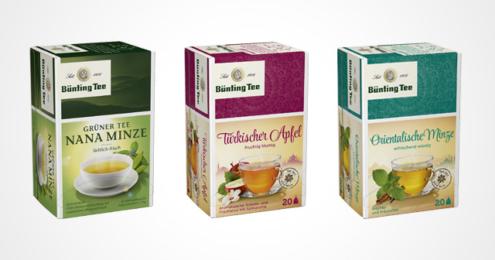 Bünting Tee Ländertees