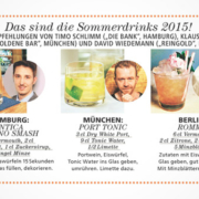 JOY Sommerdrinks 2015