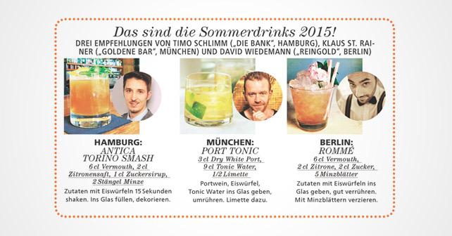 JOY Sommerdrinks 2015