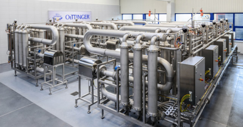 Oettinger Membranfiltrations-Anlage