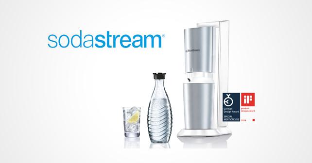SodaStream Logo Maschine
