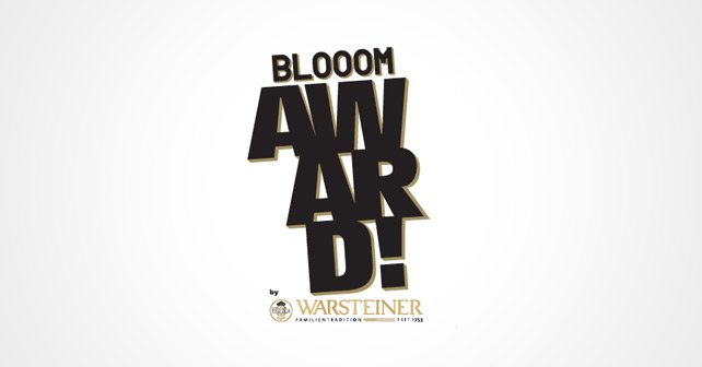 Blooom Award by Warsteiner Logo