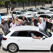 Krombacher Kronkorken-Gewinnspiel Audi A3