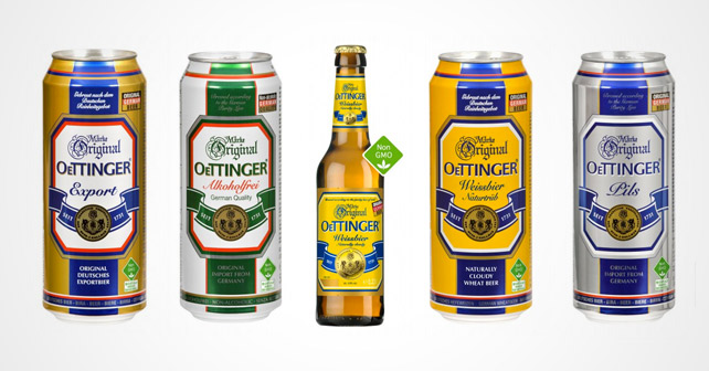 Oettinger Bier Ohne Gentechnik