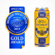 Oettinger Hefeweißbier Monde Selection 2015