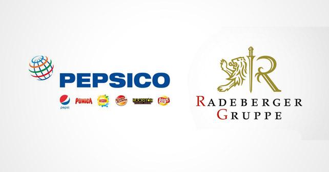 PepsiCo Radeberger Gruppe Logos