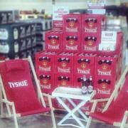Tyskie Promotion Handel Biergarten