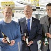 Warsteiner Brauerei neue Sortier-Anlage