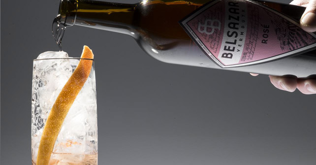 BELSAZAR Vermouth Rosé IWSC 2015