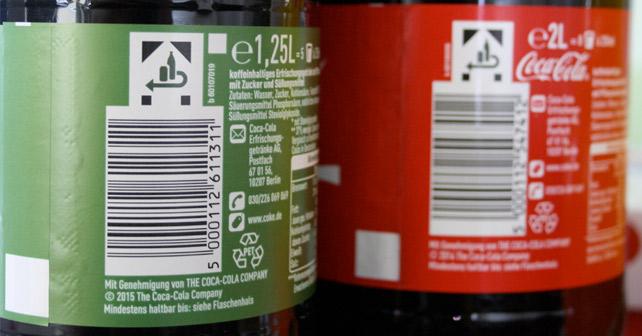 DUH Coca-Cola Einwegflaschen
