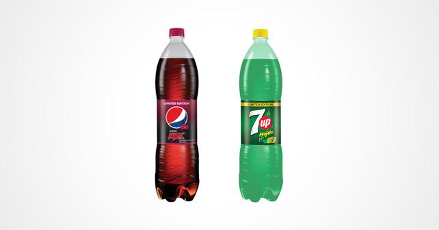 Pepsi MAX Cherry & 7Up Mojito