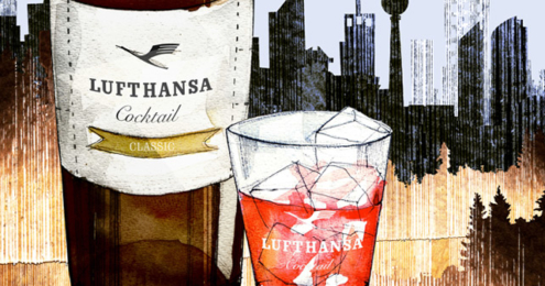Small Big Brands Lufthansa Cocktail