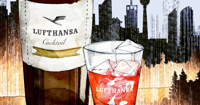 Small Big Brands Lufthansa Cocktail