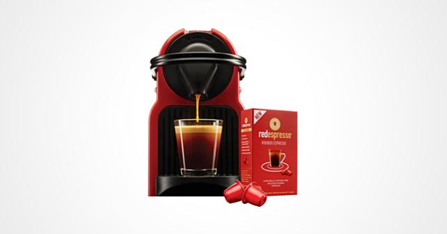 Sydney and Frances Red Espresso Kapsel