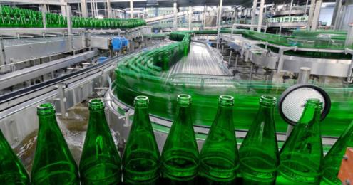 Trink & Spare Schloss Quelle Produktion