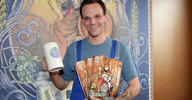 Tucher Comic Eckis Brauereiführung
