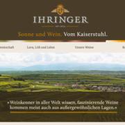 Winzergenossenschaft Ihringen Neue Website