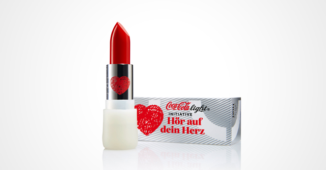 Coca-Cola uslu airlines Lippenstift