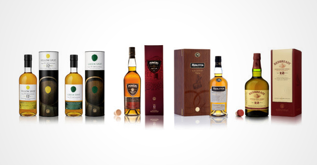 Pernod Ricard Prestige Selection irische Whiskeys