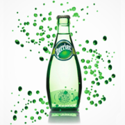 Perrier Flasche