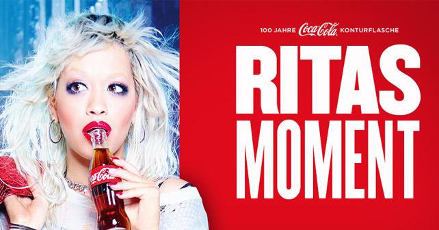 Rita Ora Coke Moment
