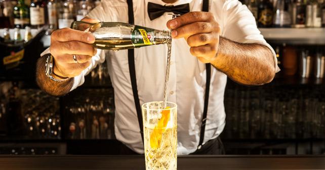 Schweppes Bar Drink
