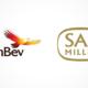 AB InBev SABMiller Logos
