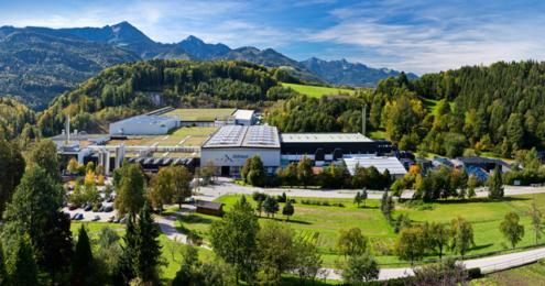 Adelholzener Betriebsgelände