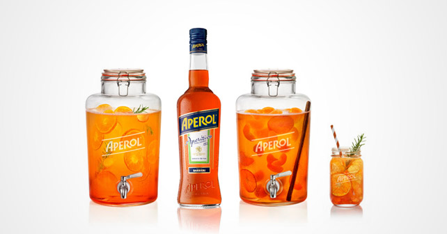 Aperol Drinks Punch Barrel