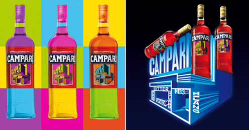 Campari Art Label Edition 2015