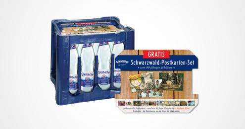 Griesbacher Mineralwasser Postkarten