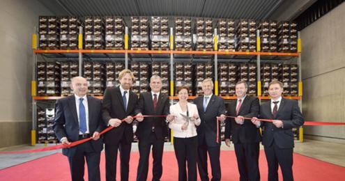 Köstritzer Logistikanbau Eröffnung