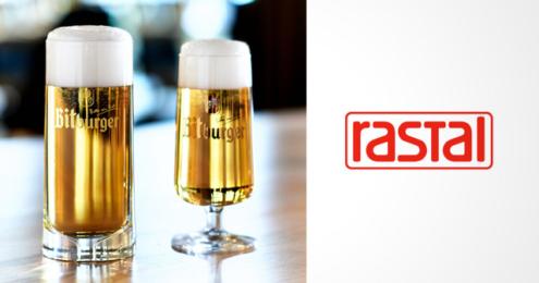 RASTAL Bitburger Designglas